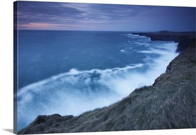 Cliffs And Coastline Of Loop Head; County Clare Ireland