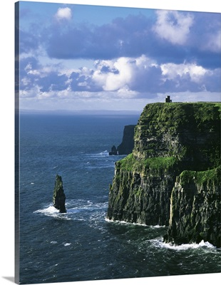 Cliffs Of Moher, County Clare, Ireland, Cliffs On The Atlantic Ocean