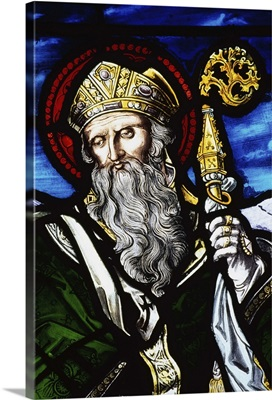 Clogheen, Ireland, St. Patrick On Stained Glass