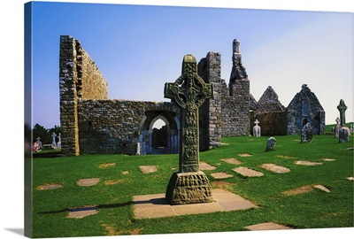 Clonmacnoise, Co Offaly, Ireland, West Cross, Cross Of The Scriptures