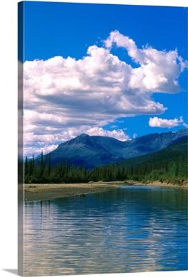 Clouds Reflecting in John River Brooks Range AK