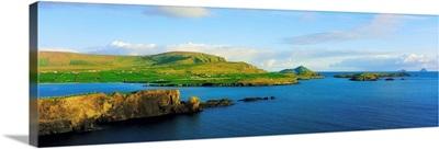 Co Kerry, Ireland, Landscape From Valentia Island