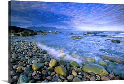 Coastline And Waves, Newfoundland