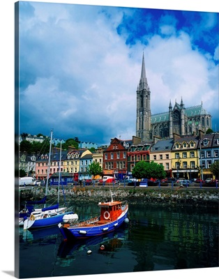 Cobh Cathedral and Harbour, County Cork, Ireland