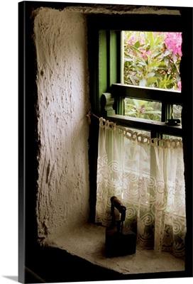 Cottage Window, County Kerry, Ireland