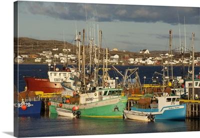 Crab Fishing Boats, Fogo Island, Newfoundland
