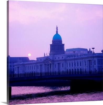 Custom House, Dublin, County Dublin, Ireland