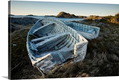Derelict Boats, Change Islands, Newfoundland