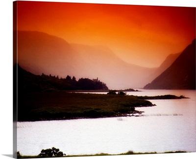 Derryveagh Mountains, Glenveagh National Park, Co Donegal, Ireland