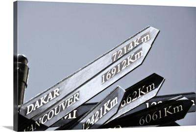 Destination Sign
