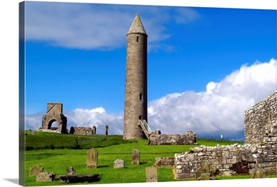 Devenish Monastic Site, County Fermanagh, Ireland