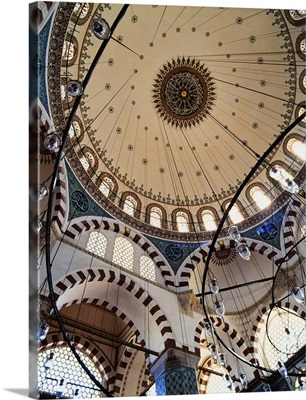 Domed Roof Of Rustem Pasa Mosque