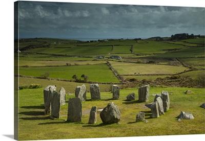 Drombeg Stone Circle Near Glandore, West Cork, County Cork, Ireland