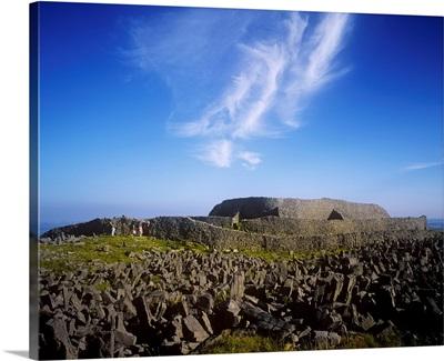 Dun Aengus Fort, Inishmore, Aran Islands, County Galway, Republic Of Ireland