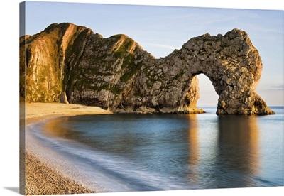 Durdle Door, Jurassic Coast World Heritage Site, Dorset, England