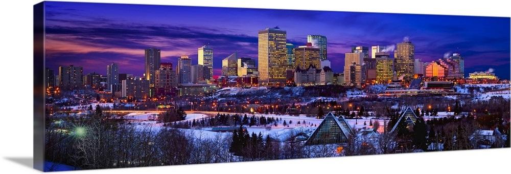 Edmonton Winter Skyline