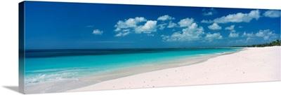 Empty White Sand Tropical Beach