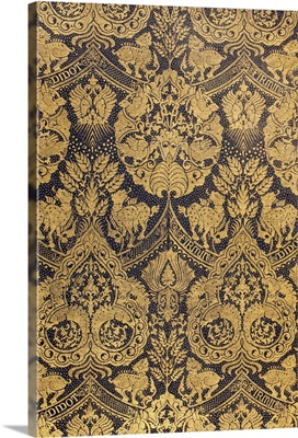 End Paper From A 19th Century Book Published By Firmin Didot Of Paris
