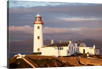 Exterior Of Fanad Lighthouse; Fanad Head, County Donegal, Ireland