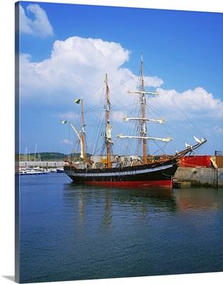 Fenit, Co Kerry, Ireland; Famine Ship Replica The jeanie Johnston