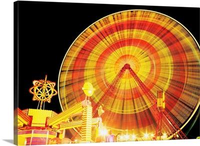 Ferris Wheel And Other Rides, Derry, Ireland