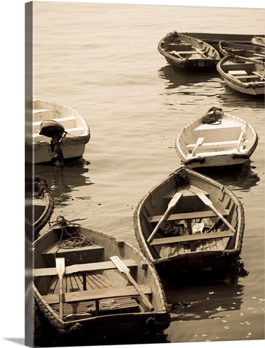 Fishing Boats On The Water Wall Art, Canvas Prints, Framed Prints ...