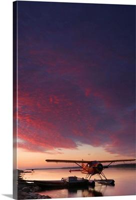 Floatplane On The Mackenzie River, Northwest Territories, Canada