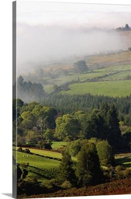 Fog Rolling Into Nire Valley; Clonmel, County Tipperary, Ireland