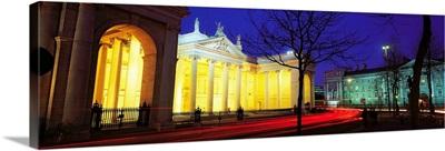 Former Irish Houses Of Parliament, Bank Of Ireland, College Green, Dublin, Ireland