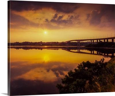 Foyle Bridge, Derry, River Foyle, County Derry, Ireland