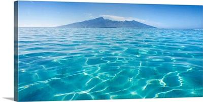 French Polynesia, Tahiti, Moorea, Beauitful Seascape Of Moorea