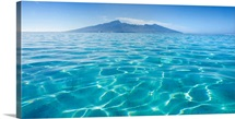 French Polynesia, Tahiti, Moorea, Beauitful Seascape Of Moorea