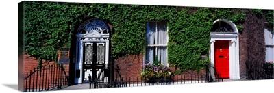 Georgian Doors, Fitzwilliam Square, Dublin, Ireland
