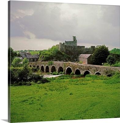 Glanworth Bridge, Funshion River, County Cork, Ireland