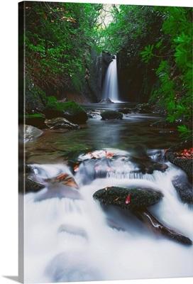 Glencar, Co Sligo, Ireland; Waterfall