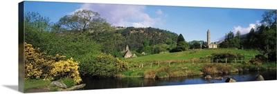 Glendalough, Co Wicklow, Ireland, Saint Kevin's Monastic Site