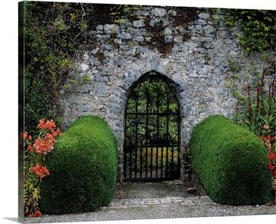 Gothic Entrance Gate, Walled Garden, Ardsallagh, Co Tipperary, Ireland