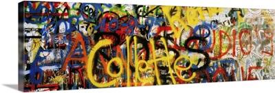 Graffiti On The U2 Wall, Windmill Lane, Dublin, County Dublin, Ireland
