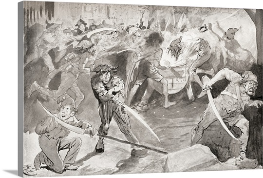 Grindstone Illustration For The Charles Dickens Novel A Tale Of Two Cities