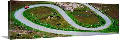 Hairpin Bends In The, Healy Pass, Beara Peninsula, Co Cork, Ireland
