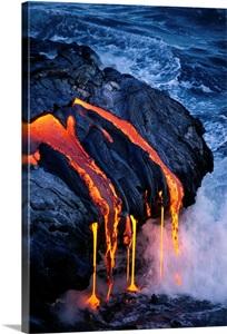 Hawaii Big Island Hawaii Volcanoes National Park Lava