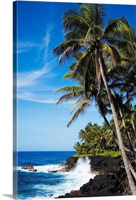 Hawaii, Big Island, Kahena Coastline