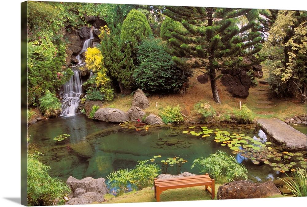 Hawaii, Kauai, Kilauea, Na Aina Kai Botanical Garden