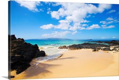 Hawaii, Maui, Makena, Maui Wai Or Secret Beach