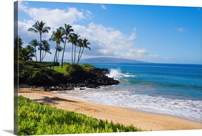 Hawaii, Maui, Wailea, Beautiful Ulua Beach