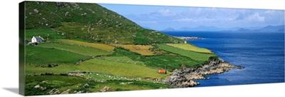 High Angle View Of A Coastline, County Cork, Republic Of Ireland