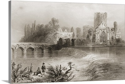 Holy Cross Abbey, On The Suir, County Tipperary, Ireland