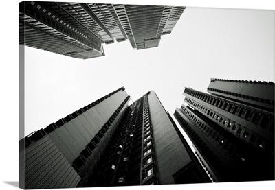 Hong Kong, Central, New Modern Buildings