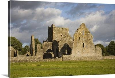 Hore Abbey, Cashel, County Tipperary, Ireland; Abbey Ruins In Field