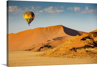 Hot Air Balloon Ride, Sossusvlei, Hardap Region, Namibia